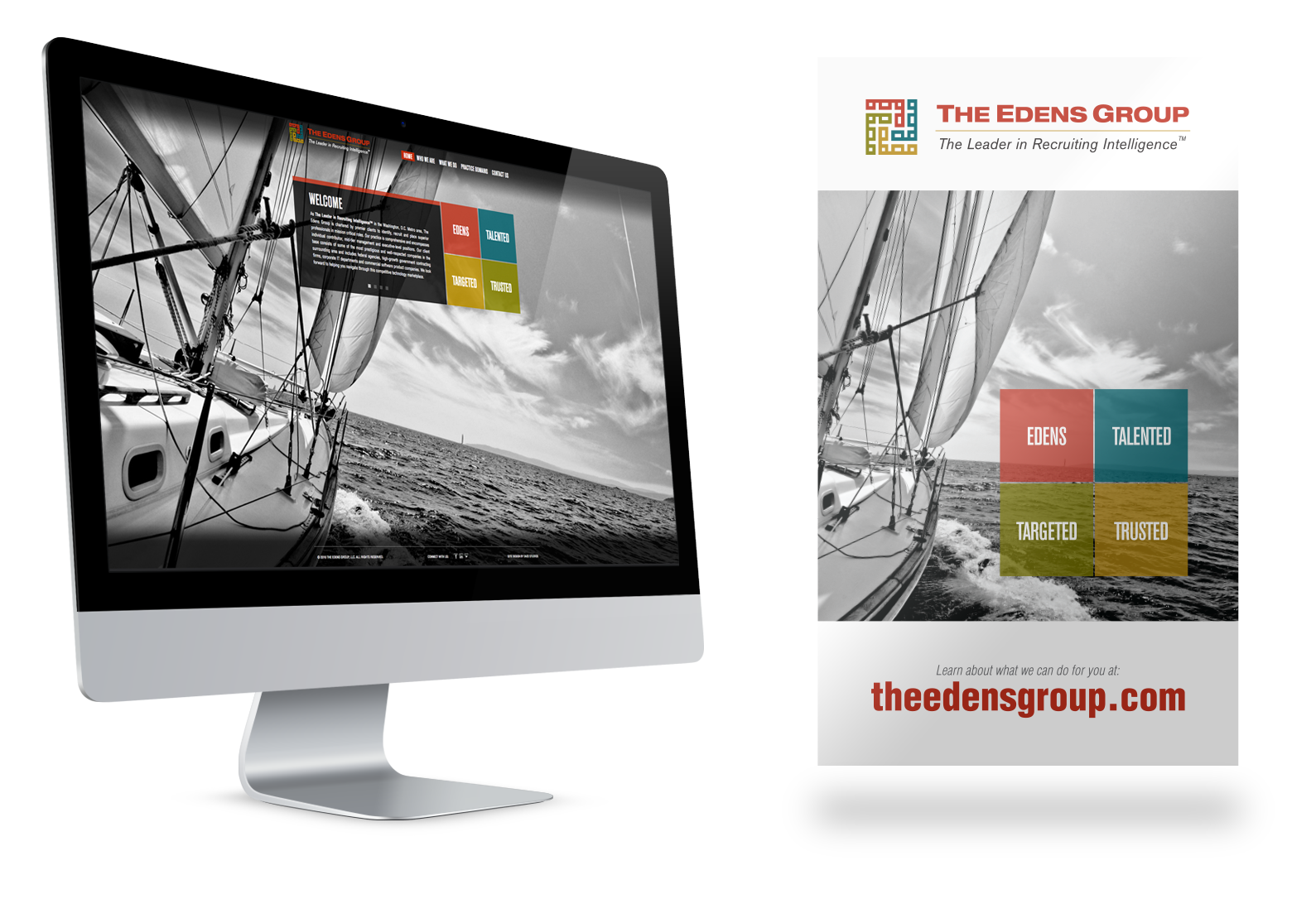 Portfolio Gallery - The Edens Group website and banner