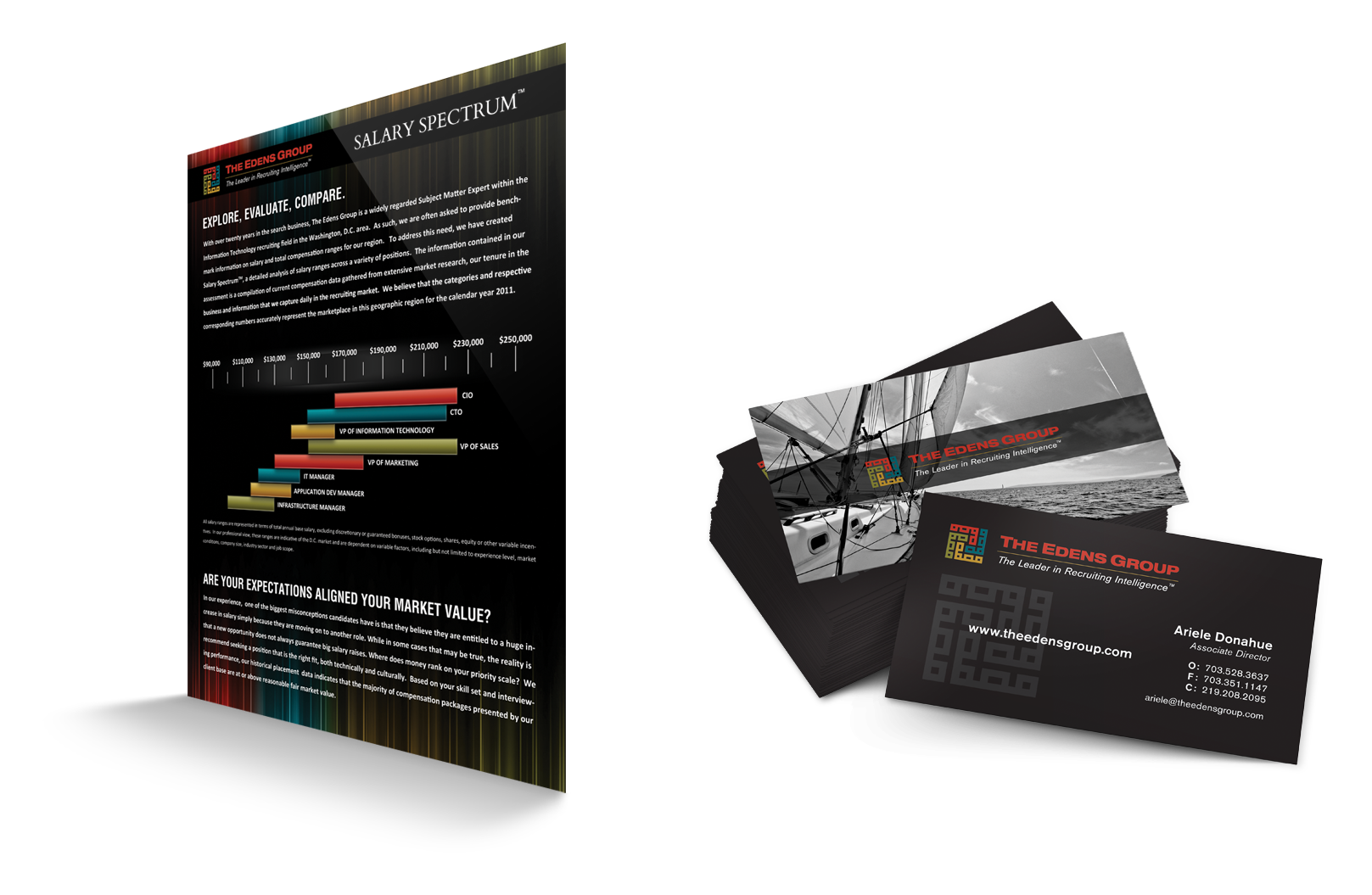 Portfolio Gallery - The Edens Group print collateral